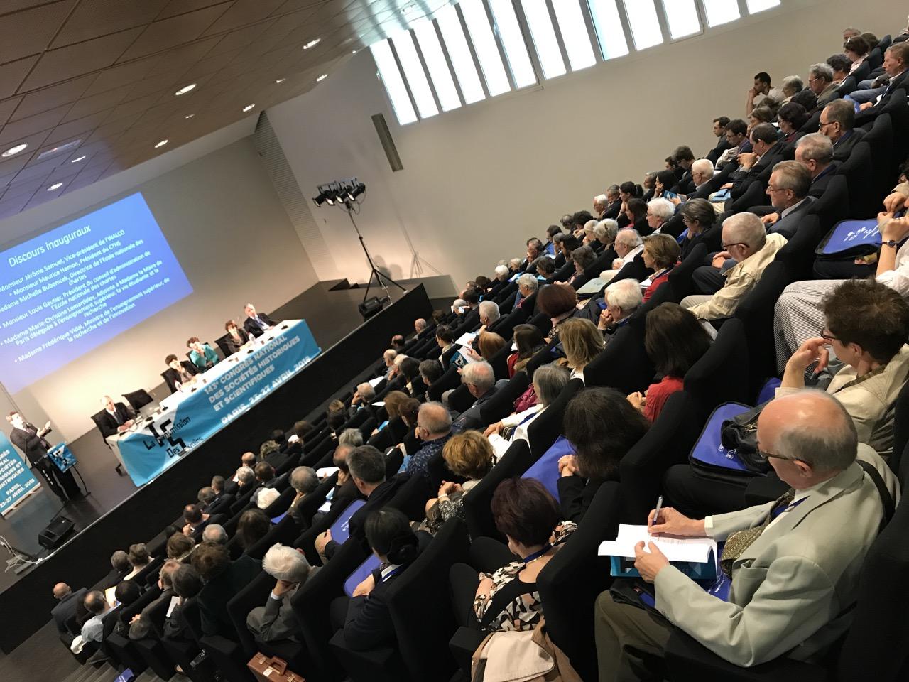 Le congrès du CTHS